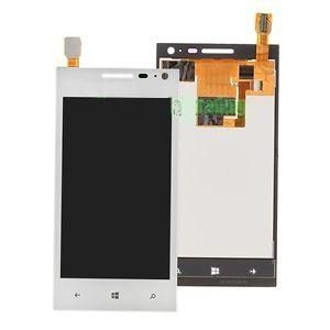 LCD (Дисплей) Huawei Ascend W1 (с тачскрином) (white) Оригинал