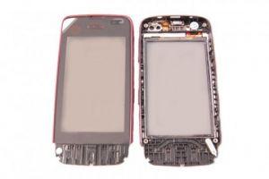 Тачскрин Nokia 311 Asha (в раме) (red) Оригинал