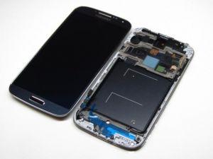 LCD (Дисплей) Samsung i9500 Galaxy S4 (в сборе с тачскрином) (black) Оригинал