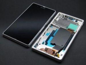 LCD (Дисплей) Sony C6602 Xperia Z/C6603 Xperia Z/C6606 Xperia Z  (в сборе с тачскрином) (в раме) (white) Оригинал