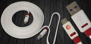 Кабель USB Griffin Premium micro USB (1 метр) (white)