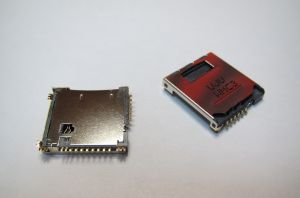 Разъём Samsung S5230/S5233 (micro SD и sim-карты) Оригинал