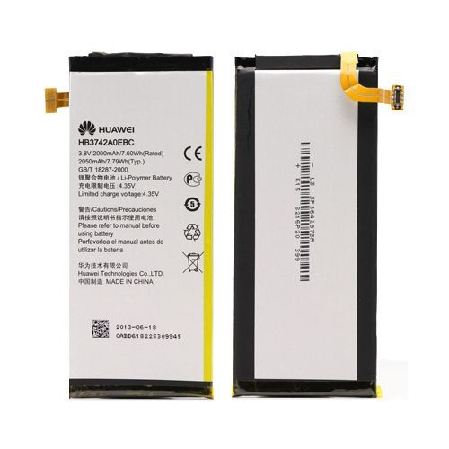 Аккумулятор Huawei Ascend P6 (HB3742A0EBC) Оригинал
