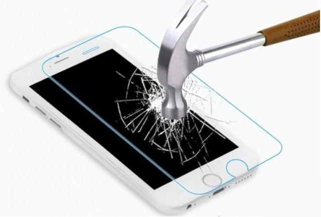 Защитное стекло Apple iPhone 5/5S (бронестекло, заднее)