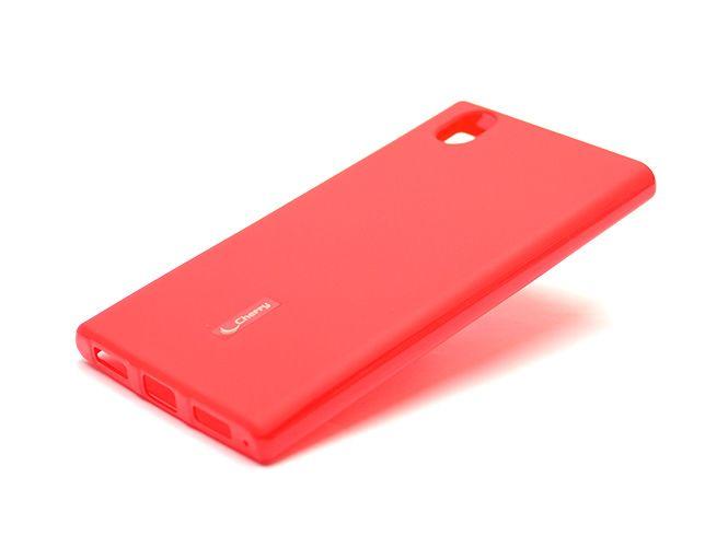 Накладка Cherry Lenovo P70 силикон (red) + защитная плёнка