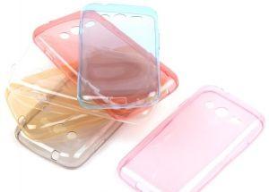 Накладка Samsung G313H Galaxy Ace 4 Lite/G318H Galaxy Ace 4 Neo силикон (white)