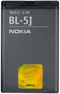Аккумулятор Nokia BL-5J Оригинал