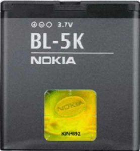 Аккумулятор Nokia BL-5K Оригинал
