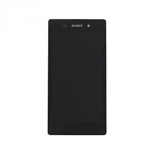 LCD (Дисплей) Sony C6903 Xperia Z1 (в сборе с тачскрином) (в раме) (black) Оригинал