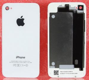 Задняя крышка Apple iPhone 4 (white) Оригинал