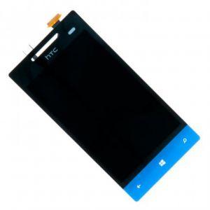 LCD (Дисплей) HTC A620e Windows Phone 8s (в сборе с тачскрином) (blue) Оригинал