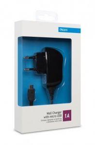 Сетевое зарядное устройство Deppa micro USB (1 A)