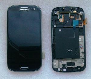 LCD (Дисплей) Samsung i9300 Galaxy S3 (в сборе с тачскрином) (в раме) (black) Оригинал