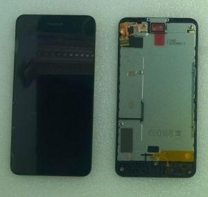 LCD (Дисплей) Nokia 630 Lumia (в сборе с тачскрином) (в раме) Оригинал