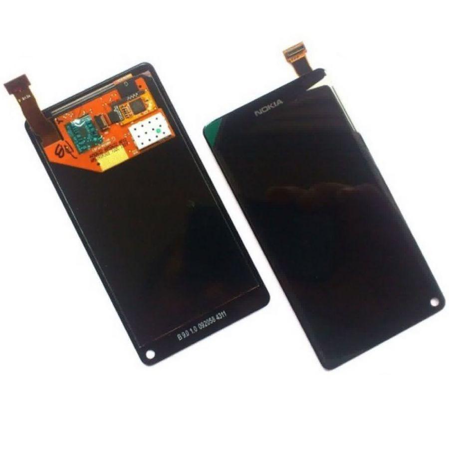 LCD (Дисплей) Nokia N9 (в сборе с тачскрином) (black)