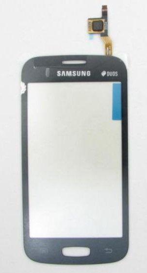 Тачскрин Samsung S7260 Galaxy Star Pro/S7262 Galaxy Star Plus (black) Оригинал