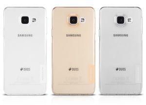 Накладка Samsung A310F Galaxy A3 (2016) силикон (black)