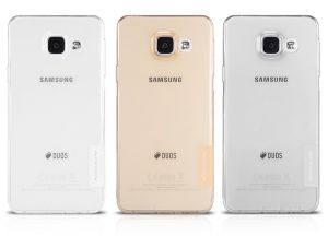 Накладка Samsung A310F Galaxy A3 (2016) силикон (white)