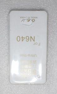 Накладка Microsoft Lumia 640 силикон (white)
