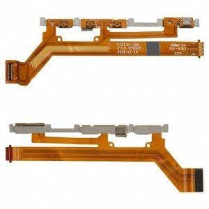 FLC (Шлейф) Sony D2302 Xperia M2 Dual sim/D2303 Xperia M2/D2305 Xperia M2/D2403 Xperia M2 Aqua (с кнопками громкости, on/off и камеры) Оригинал